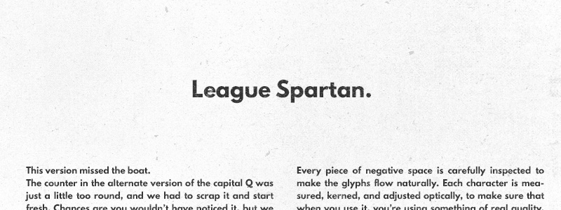 League Spartan